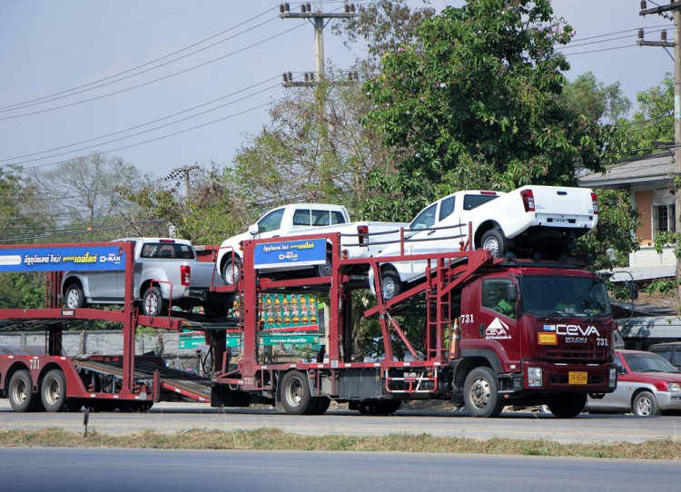 carrier, truck, auto, automotive, thailand, chiangmai, delivery, heavy, shipping, load, traffic, trailer, deliver, supply, ship, shipment, freight, vehicle, automobile, transport,