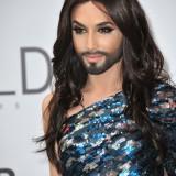 conchita, wurst, 2014, against, personality, transsexual, cinema, star, glamour, eurovision, aids, fashion, celebrity, bearded, beard, lady, gala, famous, fame, transgender, style, singer, amfar