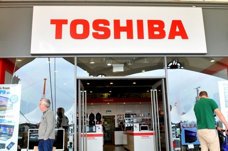 brand, logo, name , computers, laptops, Japanese, technology, toshiba, market, closeup, street, mall, retail, headquarters, centre, commercial, apparel, accessories, people, marketing, communications, technology, close-up, 8 Worst Corporate Scandals In Japan