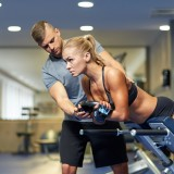 trainer, personal, gym, woman, sporty, power, wellness, fit, strong, instructor, abs, abdomens, train, equipment, core, weights, strength, body, athlete, muscular, coach,