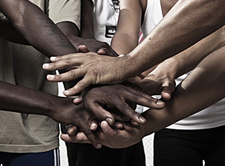 african, american, hands, friends, concepts, group, support, teamwork, joined, help, respect, male, team, partnership, human, cooperation, union, strength, success, power, 11 Countries with Highest Black Population outside Africa