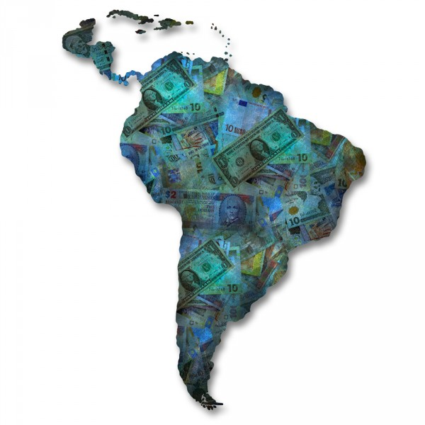 america, south, peru, ecuador, colombia, money, map, travel, symbol, political, contour, illustration, cartography, brazil, texture, country, art, geography, background, 11 Most Expensive Cities to Visit in South America in 2015