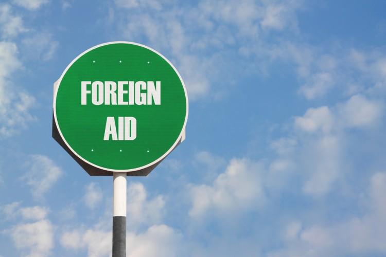 aid, foreign, sign, overseas, donation, help, assistance 10 Countries That Spend the Most on Foreign Aid