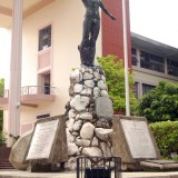 oblation, statue, study, course, symbol, nude, asia, learn, of, erect, education, art, knowledge, college, the, test, understand, state, philippines, built, mind, degree, up,