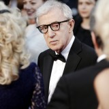 actors, allen, bow, cannes, carpet, celebrities, charming, cinema, crowd, director, elegance, eyeglasses, fame, famous, festival, film, flash, hair, light, looking, man, of,