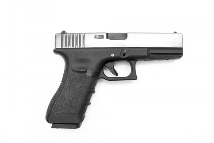 glock, handgun, gun, slide, police, glock19, pistol, recoil, g18, white, g19, sign, shot, military, weapon, rifle, revolver, g17, object, bullet, swat, holding, dangerous, barrel,