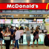 mcdonald, mc, donalds, thailand, corporation, million, business, symbol, serving, people, eat, hamburger, design, food, daily, red, restaurant, chain, junk, brasov,