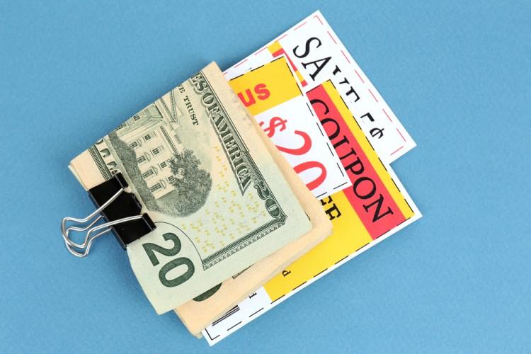 coupons savings money discounts