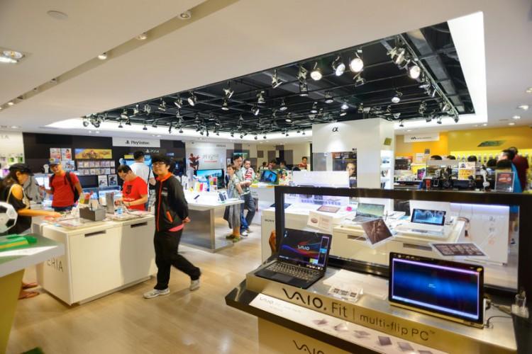 Sony Vaio, Samsung, LG, Panasonic, Toshiba, Lenovo