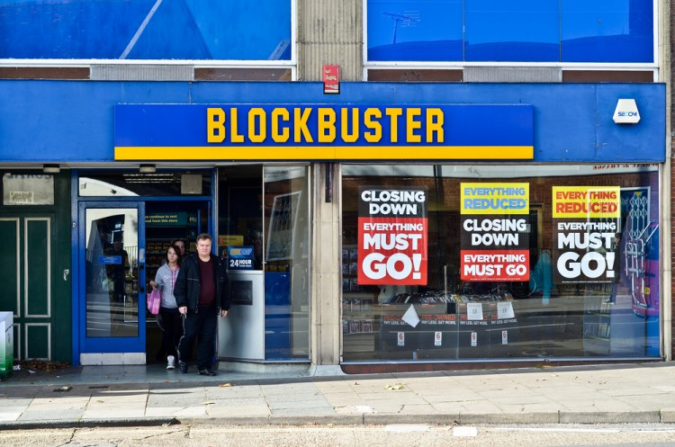 Failure to Innovate – Why Did Blockbuster Fail?